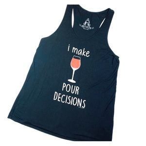Bear Dance I Make Pour Decision Tank Top
